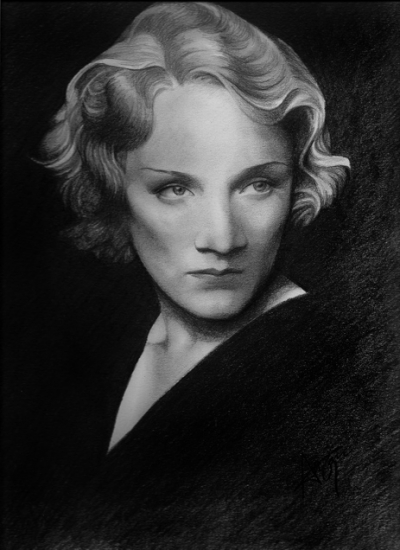 Marlene Dietrich by belovedeyes82